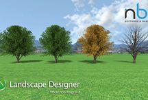 Stagioni / Le nostre piante tridimensionali offrono al progettista la possibilità di mostrare il paesaggio con i vari cambiamenti delle stagioni.