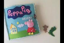 Peppa játszókönyvek
