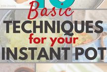 Instant Pot Recipes / Instant pot recipes for easy dinners and everything else.