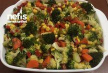 yemek salatalar