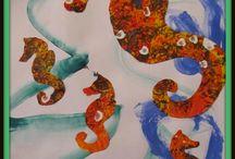 Vodné živočíchy - Morský koník