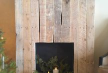 faux fireplace / by Elizabeth Roper