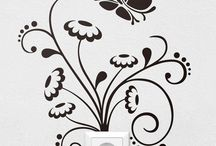 wallart, wallpaper, wall paint, ceiling, mural