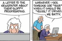 Grammar Girl: Cartoons / Funny stuff.