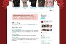 Web Portfolio / Samples of my web design, www.smackhappydesign.com