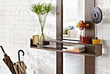 Home: Enrtyway Inspirations / Great ideas to decorate your entryway! / by Designed Decor