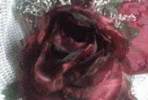 I miei lavori fatti interamente a mano / composizioni floreali fatti interamente a mano