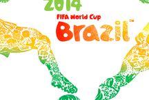 Oficial Posters World Cup Brazil 2014 / Colección  completa de los afiches de las sedes del mundial de Fútbol