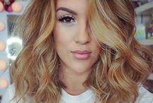 Unique beautiful hair