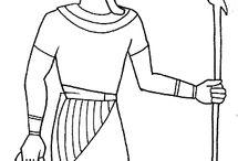 Antico Egitto disegni da colorare