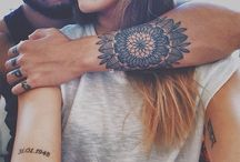 Mandala Tat Inspiration / simple and clean