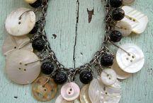 náhrdelník z knoflíků