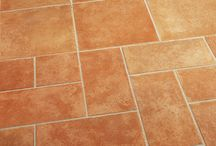 Scadati / Rustic, terracotta tiles add charm to any space.