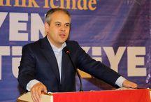 Sivas Sivil Toplum Kuruluşları, Muhtarlar ve Ak Parti Yönetici ve Üyeleri ile Yemek