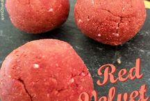 Red Velvet Protein Treats