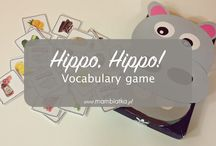 Hippo, Hippo vocabulary GAME