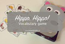 Hippo, Hippo vocabulary GAME