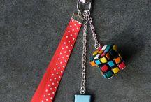 Nos bijoux de sac / Retrouver notre collection de bijoux de sac fait main avec de la pâte polymère Fimo sur notre boutique A little Market : http://www.alittlemarket.com/boutique/jl-bijoux-creation