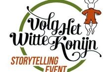 Volg het witte konijn / Storytellingevent Volg het witte konijn