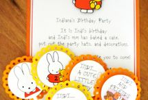 party - miffy