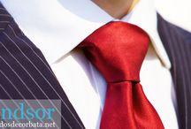 Nudos de corbata clásicos / Nudos de corbata Clásicos. Aprende a realizar los nudos mas clásicos que se le pueden hacer a una corbata.
