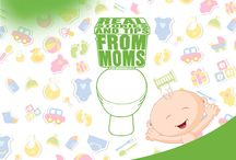Potty Training Tips / It's time to say goodbye to diapers! For toddlers, toilet training is an important and difficult process for both parents and children alike. Econorm wants to help make potty training a little easier with Potty Training Tales from real moms!
