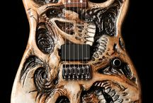 Custom Guitars / Custom guitars, rare guitars, unique guitars