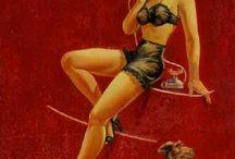 Pin-Up Art by DECKARD, Ruth