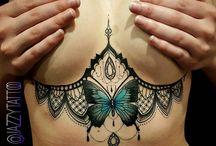 Tatuaże koronkowe