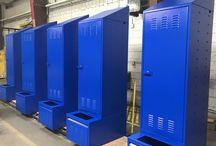 Skokie Park Services Reno - Skokie, IL #DeBourgh #Lockers / #Corregidoor #BlueHammer #SlopeTop #ClosedBase #SentryTwoLatch #LouverdVentilation #PianoHinge #HeavyDutyPersonnel #SentryOneLatch #DeBourgh #Lockers