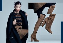 High Ambitions - FW16 / Autumn style rules: the higher the boots, the better.
