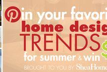 Pin & Win! 2014 Summer Home Design Trends / Your favorite summer home interior design trends for 2014! Contest winner will receive a $500 Visa Gift Card! See our the Contest Tab on our Facebook page for rules and entry details http://www.facebook.com/sheahomesaz