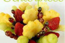 Edible fruit bouquets