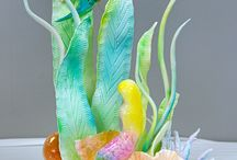 Sugar Showpieces January 2014 / These are Showpieces from our Culinary Students / by Savannah Technical College