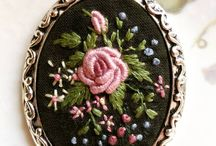embroidery- petit point