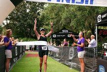 Triathletes  / Swim, Bike, Run!