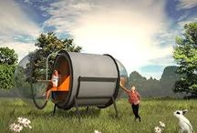 Innovative small houses / Small/mobile houses which are sustainable and fulfill all your wishes
