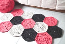 T-yarn rug inspiration / Rug ideas using tshirt yarn