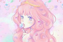 Princess Bubblegum & Marceline