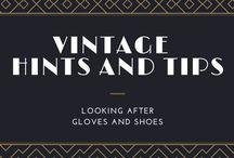 Vintage Hints and Tips