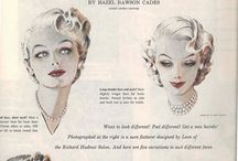 Vintage hairstyles / Inspiration!!