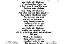 Christmas carol lyricks