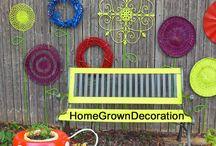 Garden Decoration Ideas / Ideas about garden decoration