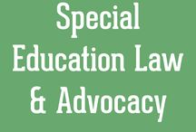 special education: resources. / by Lindsey
