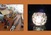 Mozaik / Cam ve taş mozaik