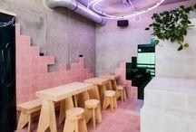interior / cafe