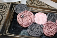 Dusty rose and gray wedding