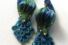 Soutache inspirations / Not mine, just to feed eyes ;)