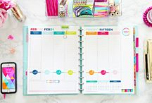 Planners & Printables & Stickers / Free printables, planer ideas, planner organization, planner printables,printable diy and organizer