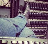Inside the Server Room / Photos from the Server Room floor